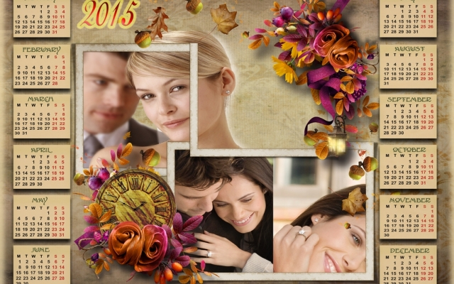 تصویر شما و عزیزانتون رو بک گراند تقویم شمسی یا میلادی قرار بدم.
