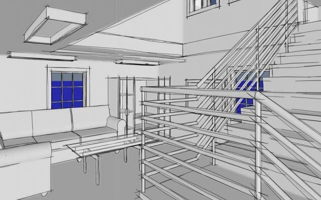 طرح و ایده شما رو به نقشههای فاز 1و2 معماری و مدل 3بعدی Revit تبدیل کنم