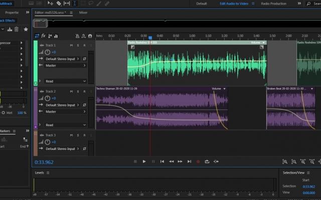 فایل های صوتی شما رو ادیت و تدوین کنم (نویز گیری، تقویت صدا، افکت گذاری و ...)