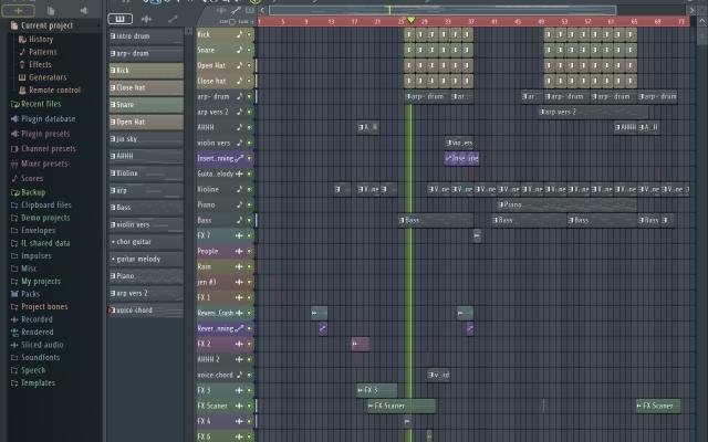 آهنگ سازی های شما رو انجام بدم