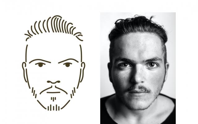 از روی چهره و شخصیت شما لوگو بسازم