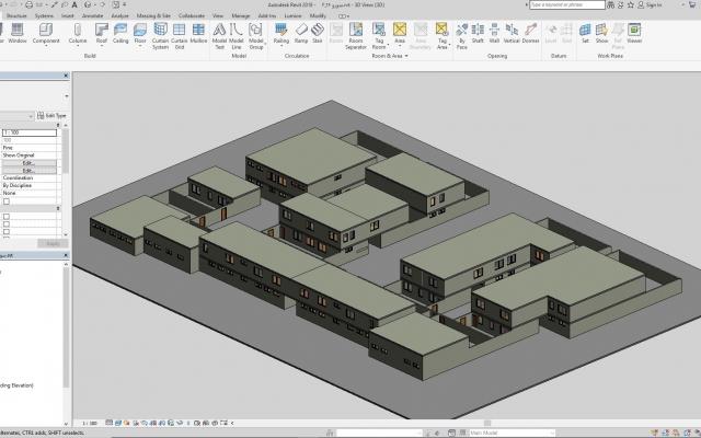 طراحی پروژه های دانشجویی و غیر دانشجویی معماری رو با رویت  و... انجام بدم