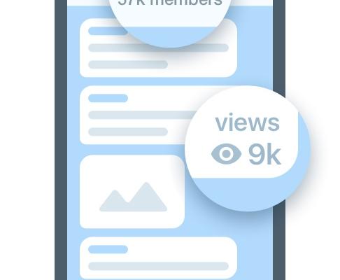 برای پست های شما در تلگرام 1000 بازدید (seen) ایجاد کنم :)