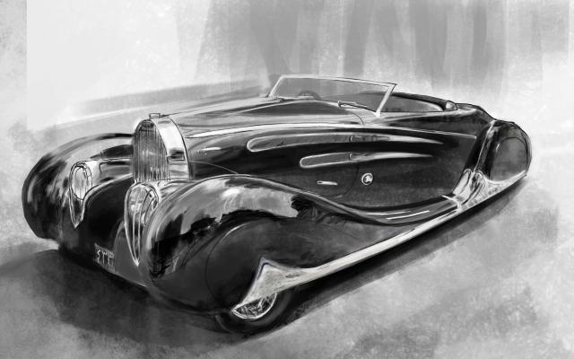 خودروی مورد علاقه شما رو به صورت دیجیتال طراحی کنم