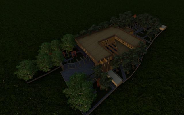 پروژه های دانشجویی معماری از جمله پلان و نما تا اسناد سه بعدی انجام بدم
