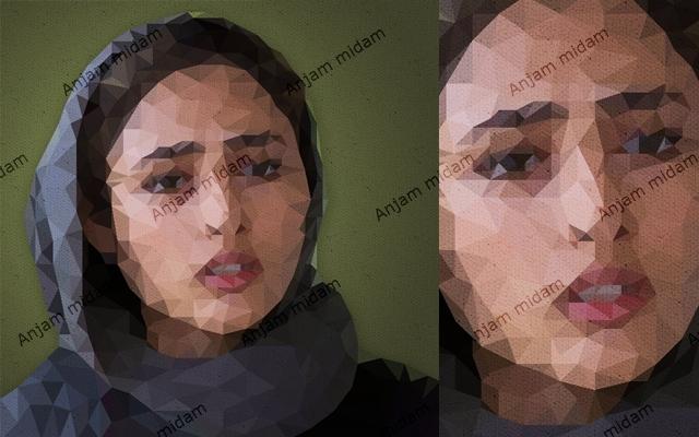 تصویر شما را به صورت یک تصویر رندر شده توسط کامپیوتر تصویرسازی کنم.