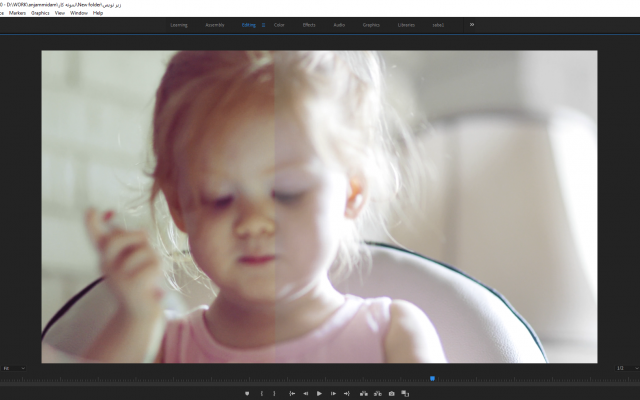 فیلم های شما رو تدوین و اصلاح رنگ کنم و به اونها زیرنویس و صدا اضافه کنم.