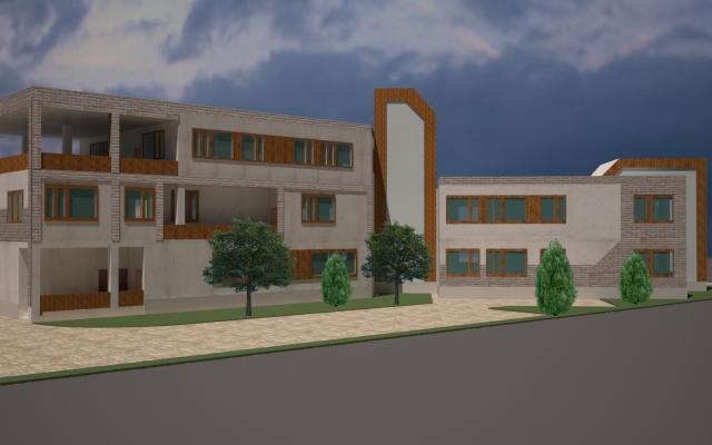 نمای سه بعدی ساختمان شما را طراحی کنم.