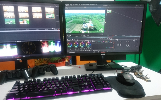 اصلاح رنگ و جلوه های ویژه برای ویدیو شما انجام بدم