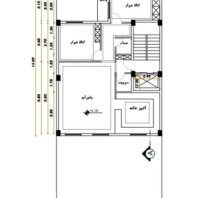 نقشه کشی معماری رو بصورت 2 بعدی با اتوکد و طراحی سه بعدی نما انجام بدم