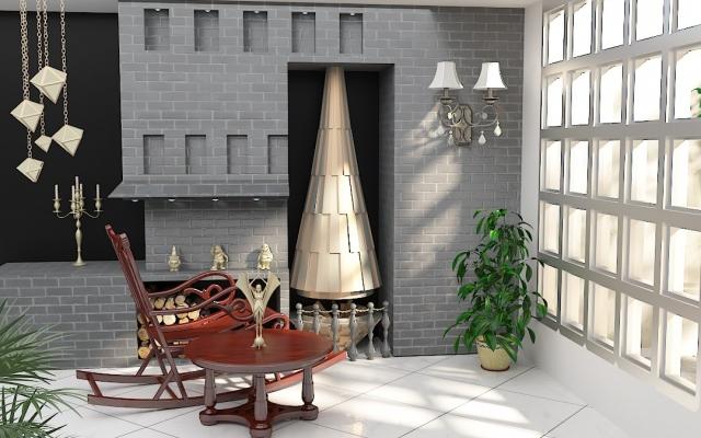 طرح های مورد نظر شما از جمله نما و محیط داخلی منزل و اداره و...را مدلسازی کنم