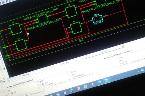 توصیف سخت افزار با زبان های VHDL و Verilog انجام بدم