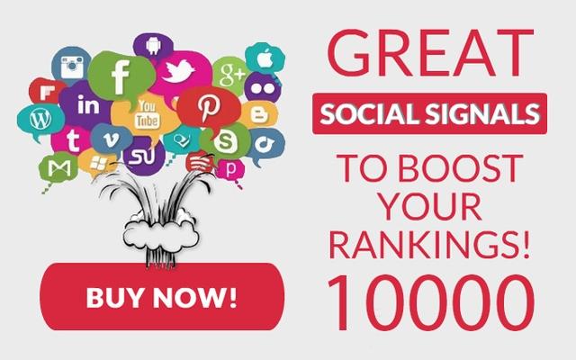 10000 سوشیال سیگنال مفید و هدفمند برای وب سایت شما فراهم کنم.(بهبود سئوی سایت)