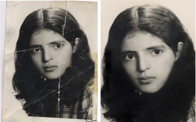 عکس های قدیمی تون رو به صورت حرفه ای زیبا روتوش و بازسازی کنم