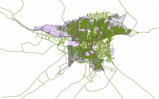 پروژه gis مانند مدل سازی، مکان یابی، تهیه نقشه، پروژه محور و ... انجام بدم