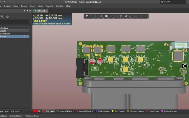 طراحی مدار های الکترونیکی از 1 لایه تا 8 لایه را با Altium انجام دهم