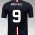 نام و شماره ی مورد علاقه هر شخص را بر روی پیراهن تیم مورد علاقه اش طراحی کنم..