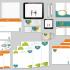 کارت ویزیت و ست اداری جهت جذب مشتری برای شما طراحی کنم