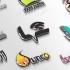 لوگوها،نام و شعارهای تبلیغاتی شما را 3 بعدی کنم(تاثیر گذار و جذب سریع بیننده)