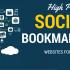 سوشیال بوکمارک با کیفیت بالا از شبکه های اجتماعی معتبر فراهم کنم.(بهبود سئو)