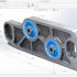 طراحی قطعات با استفاده از نرم افزار سالیدورکز (SolidWorks) رو انجام بدم